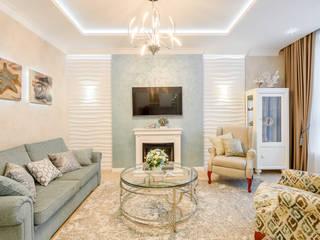 Living room by Дизайн интерьера в Калининграде. 4LifeDesignStudio