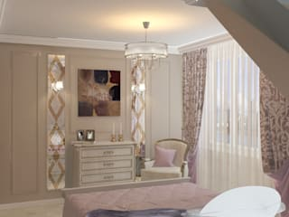 Classic style bedroom by Дизайн интерьера в Калининграде. 4LifeDesignStudio Classic