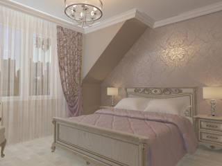Дизайн интерьера в Калининграде. 4LifeDesignStudioが手掛けた寝室