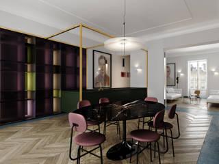 Квартира в Париже Кухня в стиле минимализм от ECOForma Минимализм