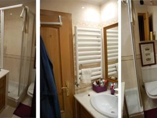 Design de Interiores - Instalação Sanitária : Casas de banho  por Dar Azos - Oficina de Design,Moderno