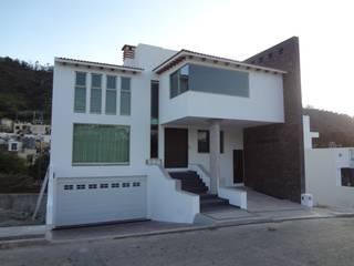 Casa habitación en la ciudad de Morelia.: Casas de estilo  por ARQUITECTOS UNION SC DE RL DE CV