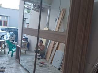 alesha projects DormitoriosClósets y cómodas Contrachapado Acabado en madera