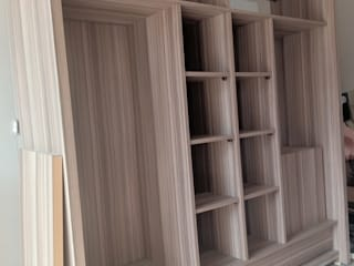alesha projects BedroomWardrobes & closets Plywood Wood effect