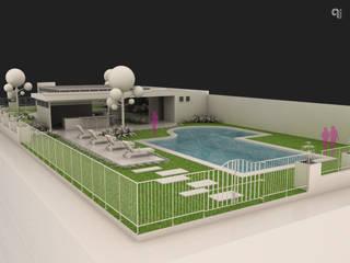9 Viento Arquitectos Garden Pool Concrete White
