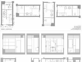 APPARTAMENTO APPIO LATINO Bagno minimalista di MINIMA Architetti Minimalista