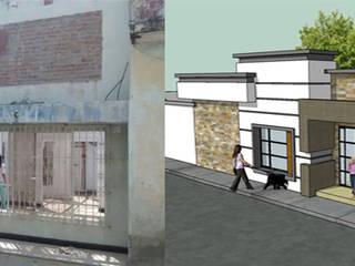 Modelado 3d -para nuestros proyectos: Casas de estilo  por Arquitectura e Ingenieria GM S.A.S, Moderno