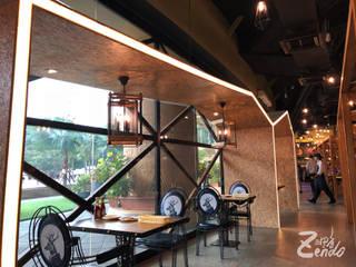 馬來西亞 - SUNNY QUEEN:  餐廳 by Zendo 深度空間設計,