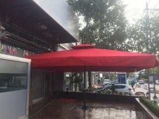 Akaydın şemsiye – AĞABABA ŞEMSİYESİ:  tarz Ön avlu,