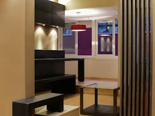 Loft Caballero: Salones de estilo  de ESTUDIO DE CREACIÓN JOSEP CANO, S.L.,