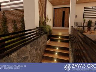 Altar apartments: Condominios de estilo  por Zayas Group