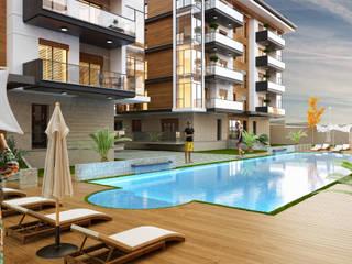 İzpek İnşaat | My Vista Smart Modern Havuz Not Mimarlık Modern