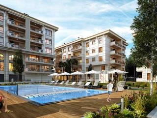 Ertürk İnşaat | Loca Modern Havuz Not Mimarlık Modern