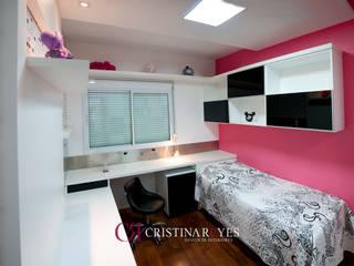 Escritórios por Cristina Reyes Design de Interiores Moderno