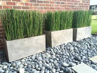 Piso entrada de residencias pedras para jardins por A.Pprestação de serviços Moderno
