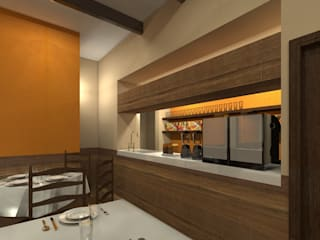 餐廳 by Protocolo Ingeniería & Arquitectura,