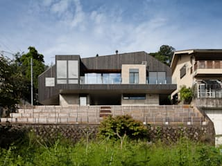 Hafye: キューボデザイン建築計画設計事務所が手掛けた家です。