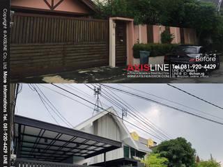 รับเหมา รีโนเวท และ ออกแบบตกแต่งภายใน บ้านคุณเชาวลิต:   by บริษัทแอคซิสลาย จำกัด