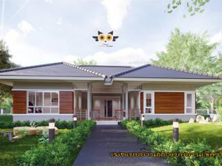 แบบบ้านออกแบบบ้านเชียงใหม่が手掛けた一戸建て住宅