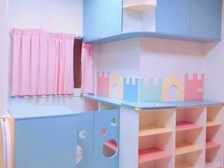 教室的儲物收納櫃及小小柵欄:  學校 by 藏私系統傢俱