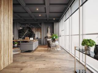 Ofis projesi Rita İç Mimarlık Endüstriyel