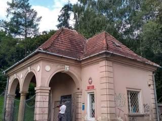 Stróżówka w Pałacu Radziwiłłów w Balicach Franc-Deker Marek Francuz