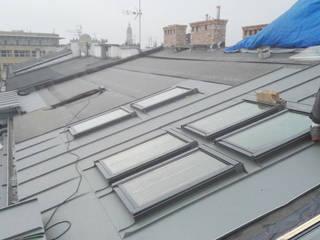 Pokrycie dachowe z blachy (tytan-cynk, aluminiowej, na rąbek, Prefa, miedzianej, trapezowej) Franc-Deker Marek Francuz