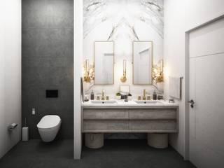Mersin Villa Modern Banyo Lotus Mimarlık/Architecture Modern