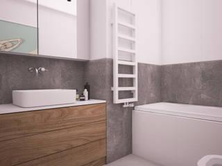 Modern bathroom by Ai Pracownia Projektowa Modern