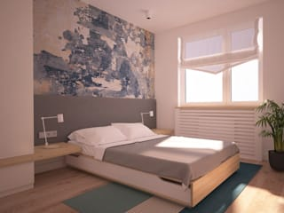Modern style bedroom by Ai Pracownia Projektowa Modern