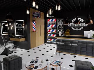 Barbershop od MOONFIELD STUDIO Industrialny
