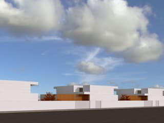 relação com a rua - conjunto habitacional:   por Limit Studio