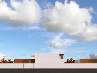 alçado principal - conjunto habitacional:   por Limit Studio