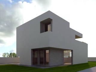 espaço exterior privado:   por Limit Studio
