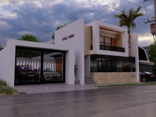 MRO HOUSE: Casas unifamiliares de estilo  por Zayas Group