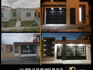Remodelacion Fachadas de ADapta - Arquitectos Mazatlan Moderno