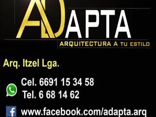 Remodelacion Fachadas de ADapta - Arquitectos Mazatlan Minimalista