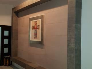 Diseños en Piel Pasillos, vestíbulos y escaleras modernos de Piel Careto Moderno