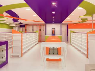 Projetos Comerciais: Corredores e halls de entrada  por Fiorino + Sandhas Arquitetos,