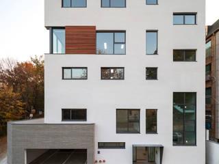 (주)건축사사무소 모도건축 Complesso d'uffici moderni Legno Bianco