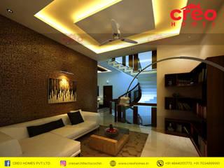 Interior Designers In Kochi Modern Bedroom by CreoHomes Pvt Ltd Modern