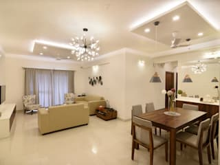 RESIDENTIAL PROJECT 5 Modern living room by Art Home Production Modern