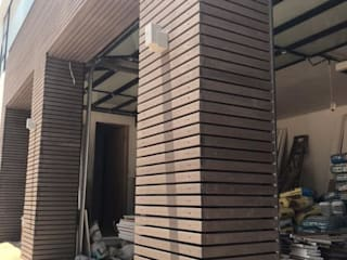 Inovar Garages & sheds Wood-Plastic Composite Brown