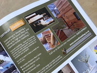 Cornwall Living Issue 81 Winter Edition 2019:  Wooden houses by Building With Frames