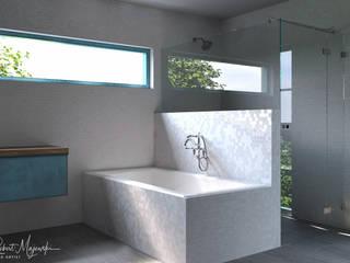 3D Studio & Design | Arquitectura | Desenho | Render Baños de estilo moderno