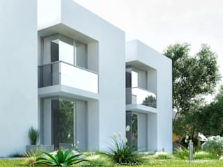 Townhouses por Robert Majewski 3dArtist Moderno