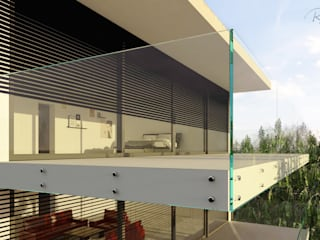 Glass planning and render por Robert Majewski 3dArtist Moderno