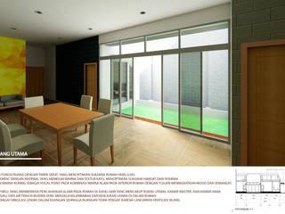 rumah tinggal nordik minimalis Ruang Keluarga Minimalis Oleh Agatha Design Minimalis