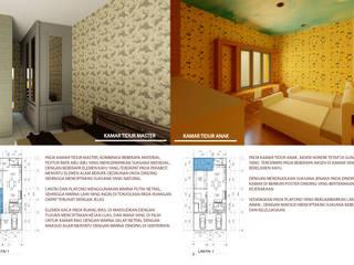 rumah tinggal nordik minimalis Kamar Tidur Minimalis Oleh Agatha Design Minimalis