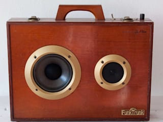 I am Recycled – FunkTrunk dé vintage Bluetooth speaker van I am Recycled